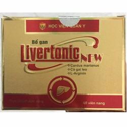 2 hộp Bổ gan Livertonic new thanh nhiệt giải độc gan nghiễm mỡ