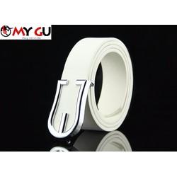 Thắt lưng thời trang phong cách TL38 - Màu trắng