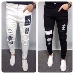 quần jean nam phối hot