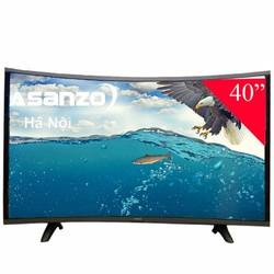 Smart tivi Màn hình cong Asanzo 40CS6000
