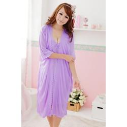 Đầm ngủ sexy kèm áo choàng
