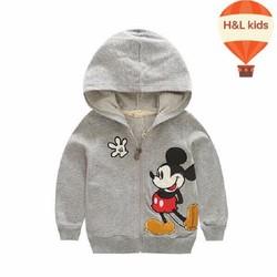 Áo khoác hình chuột Mickey đáng yêu size nhí NX1035