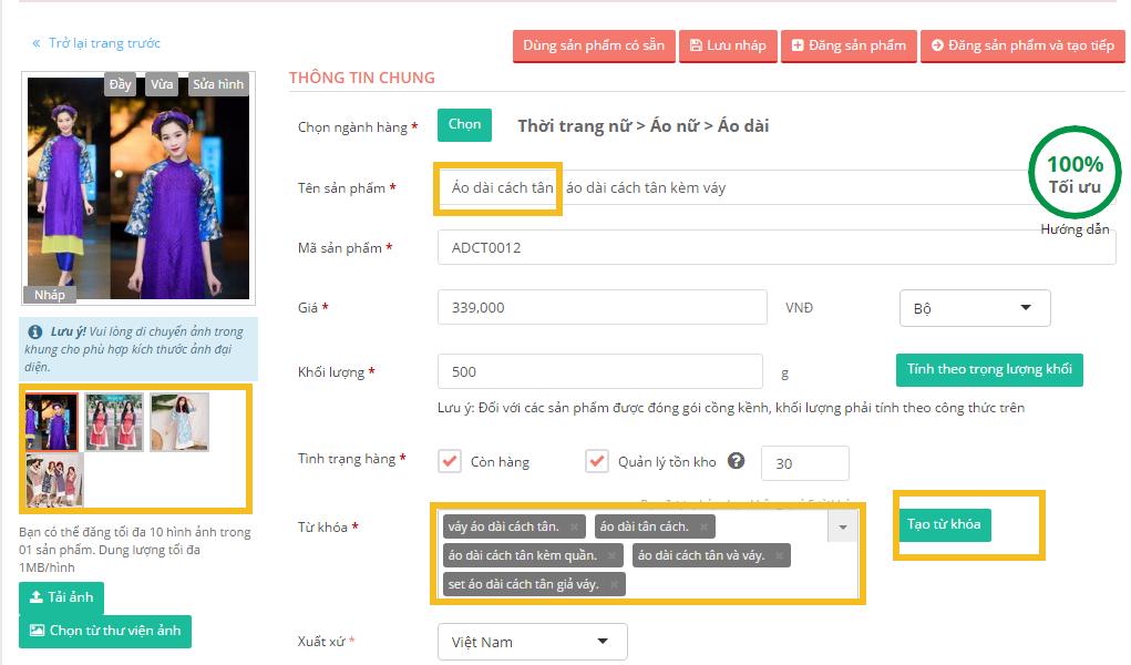 Hướng dẫn làm SEO trên Sendo để bán hàng hiệu quả - SEO TỐT HỐT TRỌN TOP TÌM KIẾM - image fCZS30 on https://congdongdigitalmarketing.com