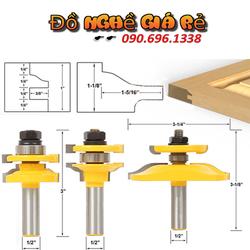 Bộ dao phay gỗ cửa bếp 17-22 mm