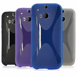 Ốp lưng One M8 silicon dẻo hiệu Yius color
