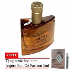 Nước hoa nam Jolie Dion Aspire EDP 60ml + Nước hoa nữ Sweet Dream 3ml