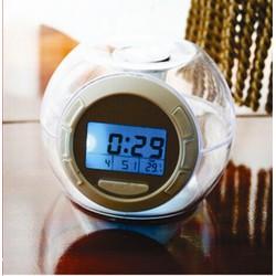 Đồng hồ báo thức LCD kiêm đèn ngủ