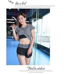 BN149-Bộ quần Áo thể thao tập Gym, Yoga cho nữ