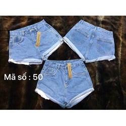 quần short jean thời trang cá tính