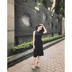 Đầm Ruby Dây Đai Eo