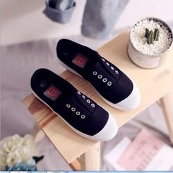 giày bệt nữ 3 màu đen ,trắng ,xanh