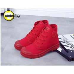 giày sneaker 3 màu đen ,trắng ,đỏ