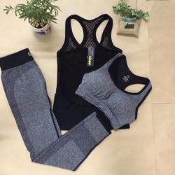 Sét 2 áo và quần tập gym, yoga cho nữ_BN590