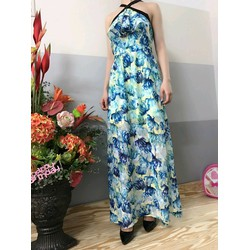 Đầm Maxi voan hoa đẹp