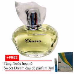 Nước hoa nữ Jolie Dion Charm EDP 60ml + Nước hoa nữ Sweet Dream 3ml