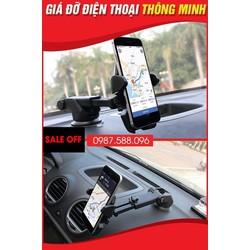 Giá đỡ kẹp điện thoại trên xe hơi, ô tô ở mọi vị trí, kéo gấp thu gọn