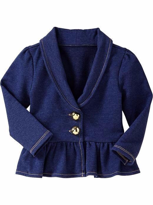 Áo khoác thun da cá Old Navy cho bé gái 1-5T K170 1