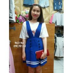 Váy yếm thủy thủ dễ thương