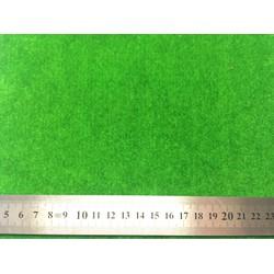 Combo 2 thảm cỏ xanh làm nhà que kem gỗ, nhà mô hình Handmade