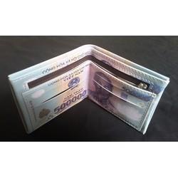 Ví in hình tiền độc đáo