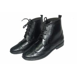 Giày boot da bò thật. Bảo hành: 12 tháng.MS : B89