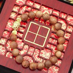 Vòng tay gỗ trầm hương - mix đầu phật