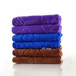 set 3 khăn tắm,gội ,rửa mặt-khăn to 140x70