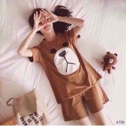 Đồ bộ ngủ hình gấu