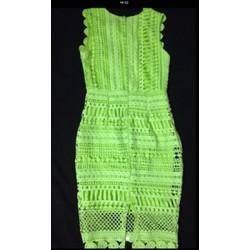 -Đầm ren xanh neon -hàng QC-1546SH12