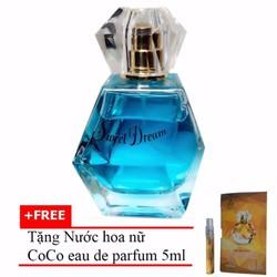 Nước hoa nữ Jolie Dion Sweet dream 60ml + Nước hoa nữ CoCo 5ml
