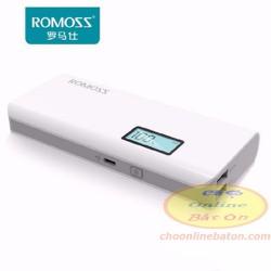 PIN SẠC DỰ PHÒNG ROMOS LCD 10.000MAH