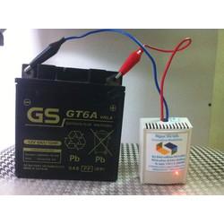 máy khử sulfate khôi phục ắc quy DS12M2 NGOCVULAB