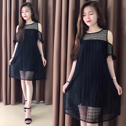 Váy ren Quảng Châu cao cấp