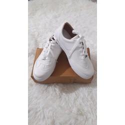 Bán sỉ, lẻ giầy thể thao trắng giá rẻ,form ôm, chất da đẹp