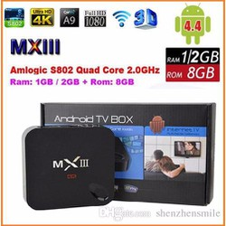 Android Tivi Box MXIII 4K RAM 1GB