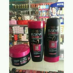 Bộ dầu gội và dầu xả và kem ủ tóc ngăn gãy rụng tóc Loreal