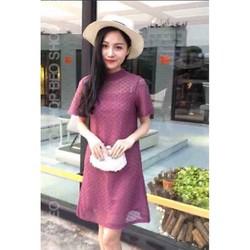 Đầm suông ren Quảng Châu