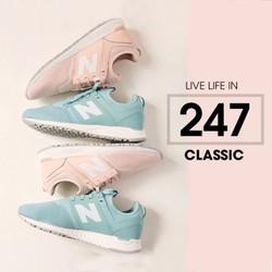 Giày Sneaker NB Nữ Hồng Cực Chất