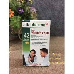 Vitamin E xách tay