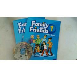 Bộ giáo trình tiếng anh Family and Friends 1