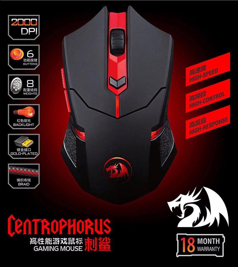 Chuột gaming RedDragon chính hãng 5