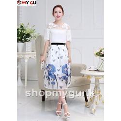 Chân váy cao cấp thời trang mới V39 - Họa tiết 5