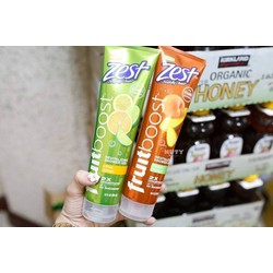 Gel tắm Zest Fruitboost hàng xách tay chính hãng Mỹ