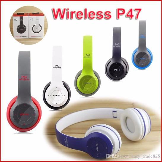 Tai Nghe Bluetooth chụp Tai P47 âm thanh tuyệt đỉnh 3