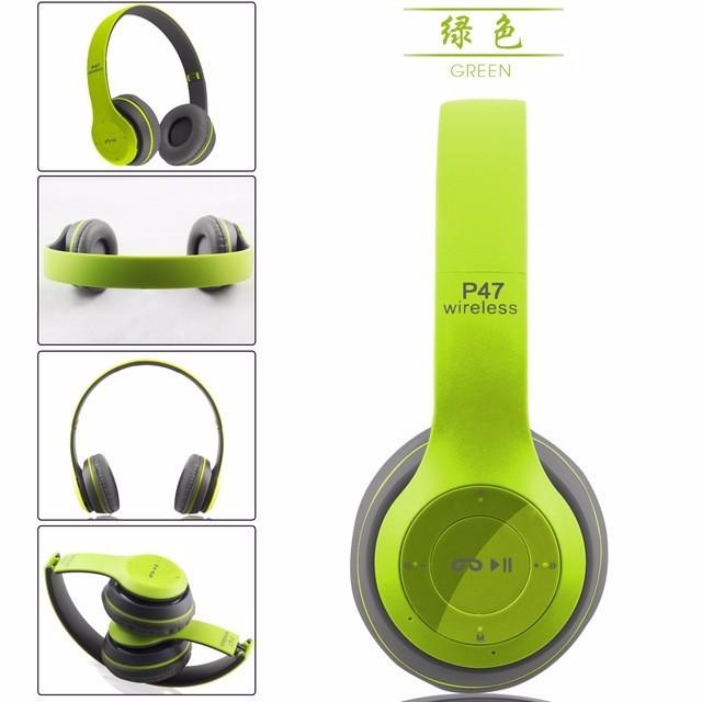 Tai Nghe Bluetooth chụp Tai P47 âm thanh tuyệt đỉnh 4