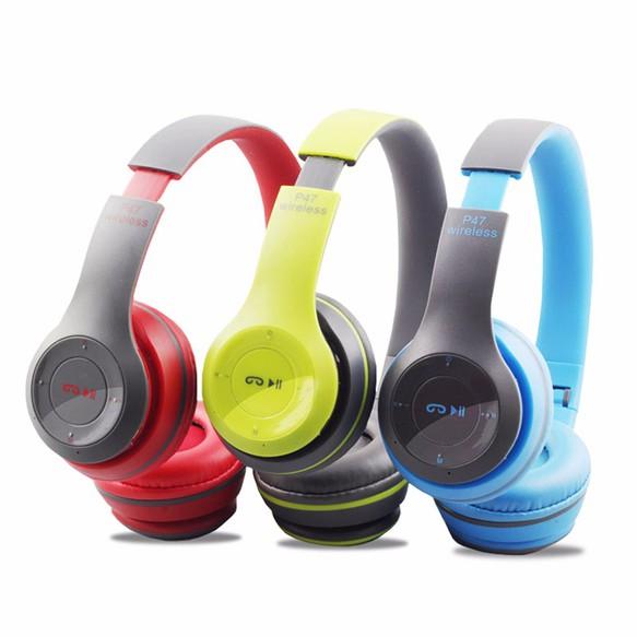 Tai Nghe Bluetooth chụp Tai P47 âm thanh tuyệt đỉnh 1