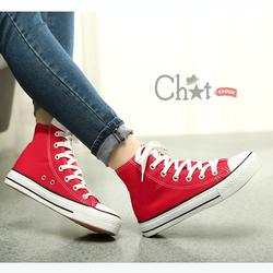 Giày Classic Đỏ Cổ Cao Phong Cách
