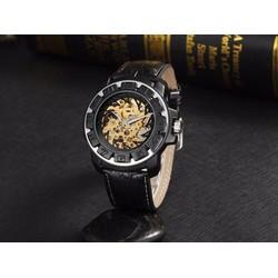 đồng hồ thời trang cơ dây da
