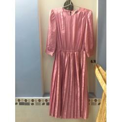 Si tuyển: Đầm vintage gấm