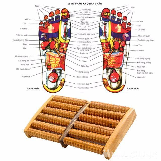 Dụng cụ massage chân 6 hàng 9